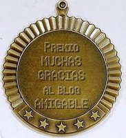 Premio al blog amigable